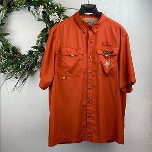 💐BOGO Spiderwire vented fishing shirt Men's XL